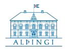 Althingi live